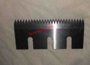 Заточка зубчатого ножа для резки пленки 1 - заточка63.рф