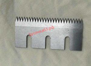 Заточка зубчатого ножа для резки пленки 2 - заточка63.рф