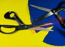 Заточка расскройных ножниц Fiscars - заточка63.рф